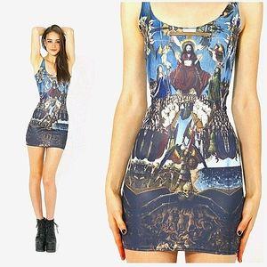 BLACKMILK Last Judgment Bodycon Mini Dress